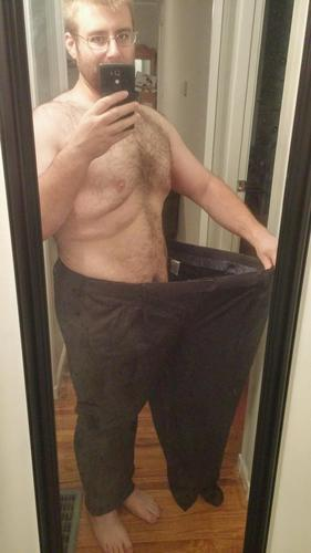 5 foot 11 Male 195 lbs Weight Loss Before and After 430 lbs to 235 lbs