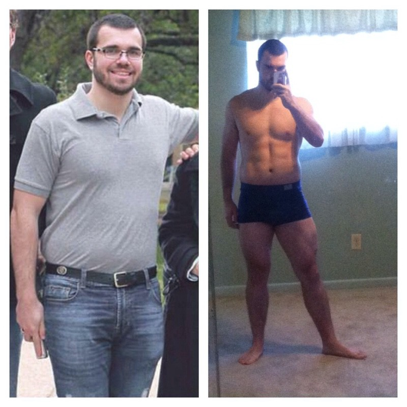 5 foot 11 Male 25 lbs Fat Loss Before and After 223 lbs to 198 lbs