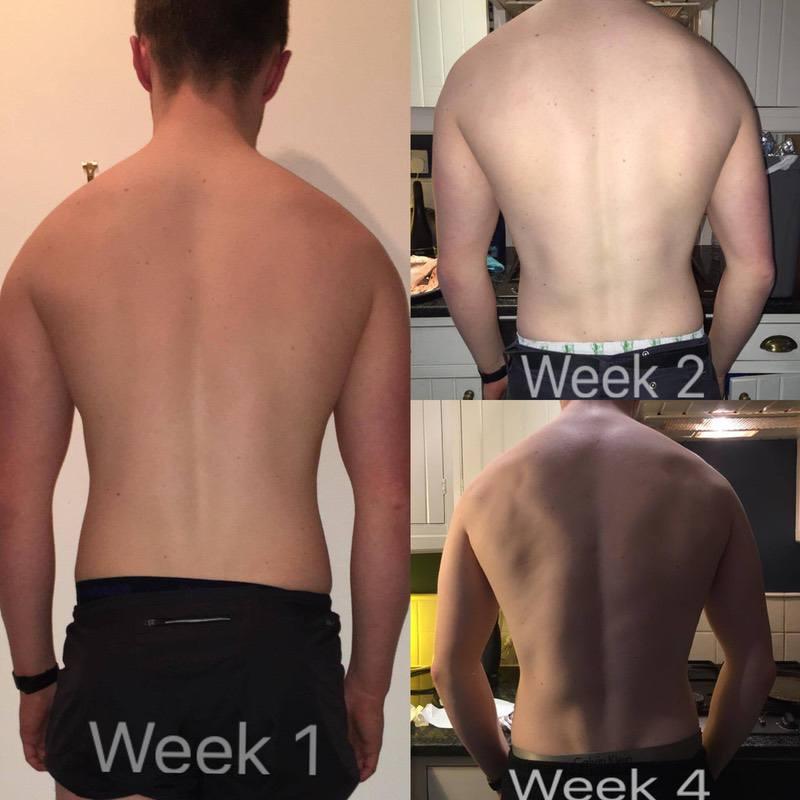 5 feet 11 Male Progress Pics of 14 lbs Weight Loss 385 lbs to 371 lbs