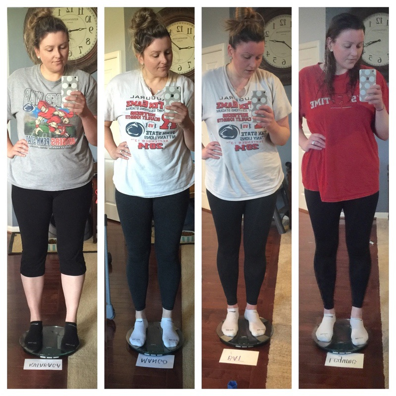 6 foot Female Before and After 23 lbs Fat Loss 231 lbs to 208 lbs