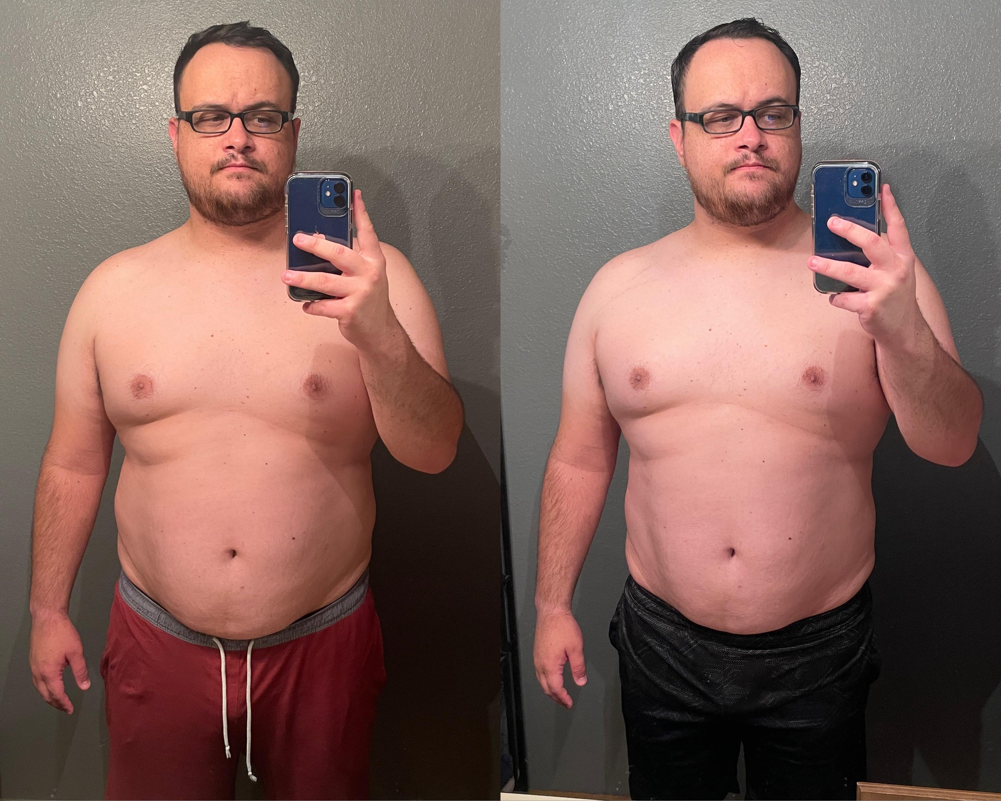 1 Pic of a 287 lbs 6 foot 2 Male Weight Snapshot
