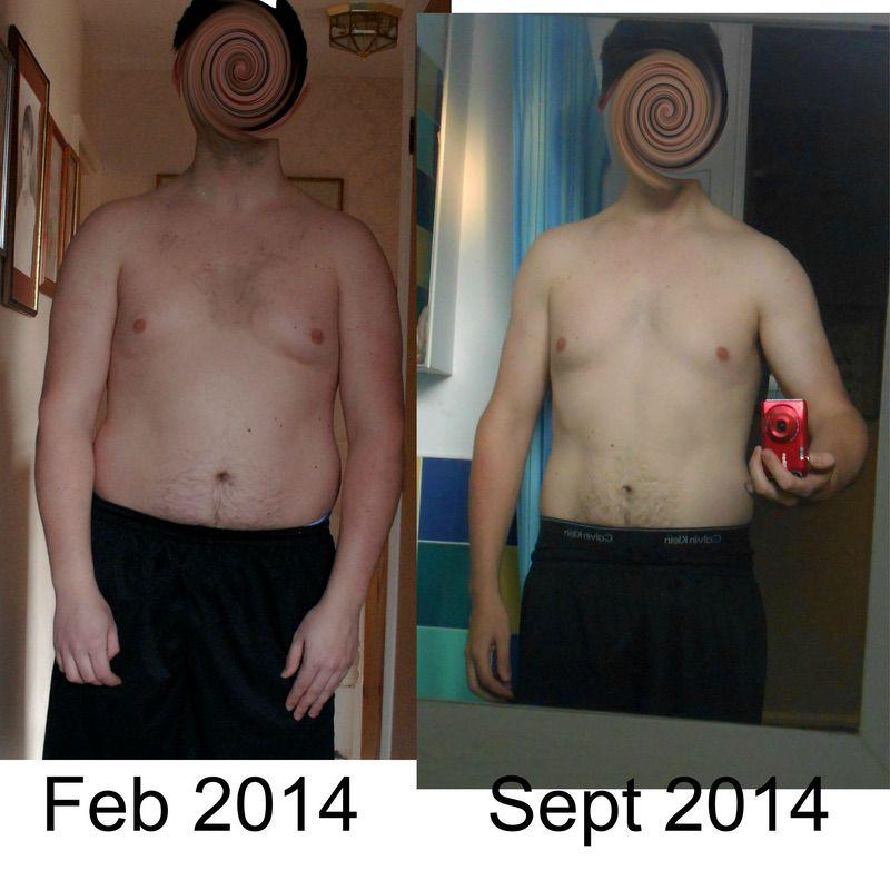 Progress Pics of 45 lbs Fat Loss 6 foot Male 212 lbs to 167 lbs