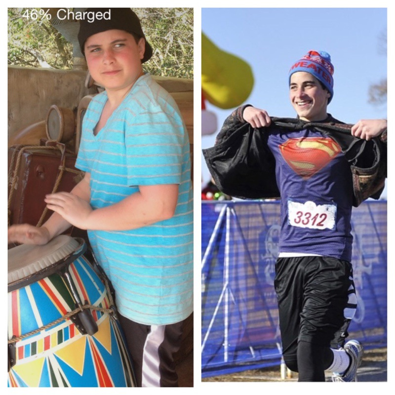 42 lbs Weight Loss Before and After 5 foot 7 Male 170 lbs to 128 lbs