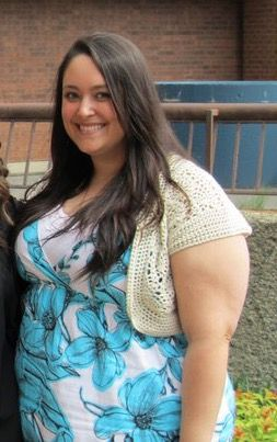 5'5 Female 101 lbs Weight Loss Before and After 294 lbs to 193 lbs