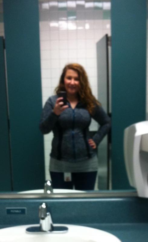 4 foot 11 Female Progress Pics of 11 lbs Fat Loss 158 lbs to 147 lbs