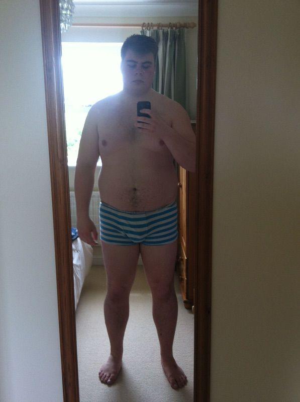 6'2 Male Progress Pics of 85 lbs Fat Loss 277 lbs to 192 lbs