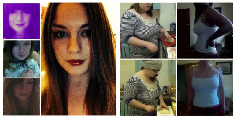 42 lbs Fat Loss Before and After 5 feet 5 Female 196 lbs to 154 lbs