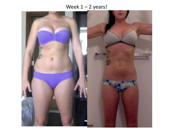 5'10 Female 30 lbs Fat Loss Before and After 175 lbs to 145 lbs