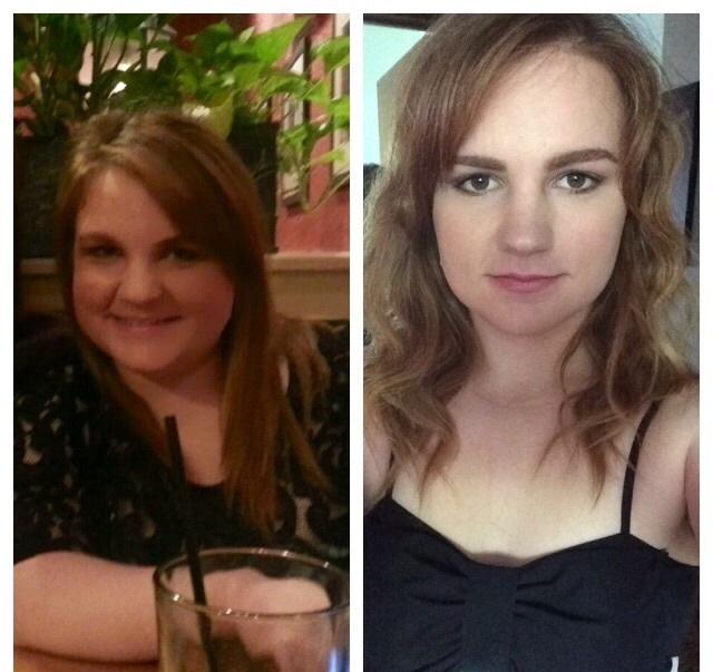 5 feet 1 Female Progress Pics of 42 lbs Fat Loss 170 lbs to 128 lbs