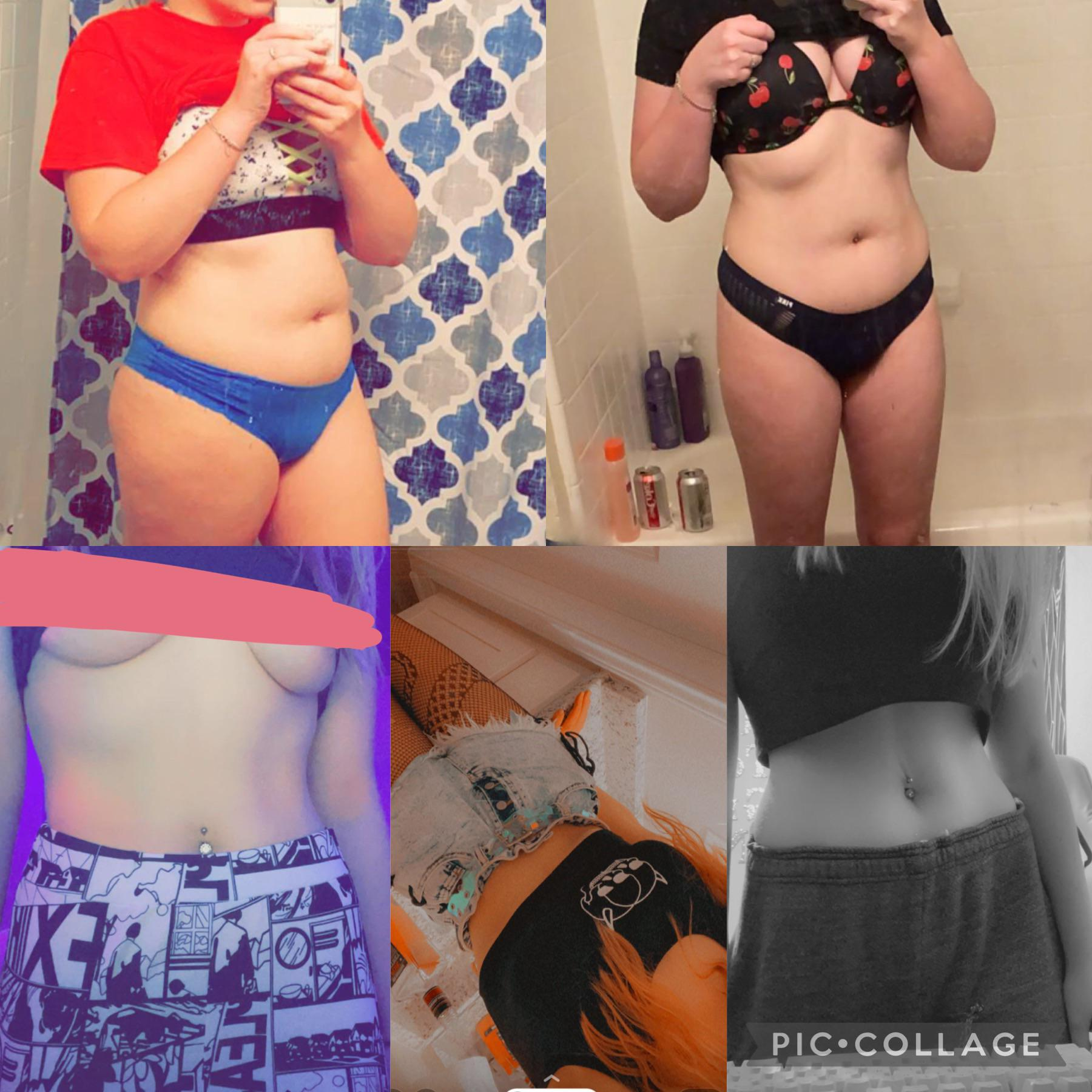5 feet 6 Female Before and After 45 lbs Fat Loss 171 lbs to 126 lbs