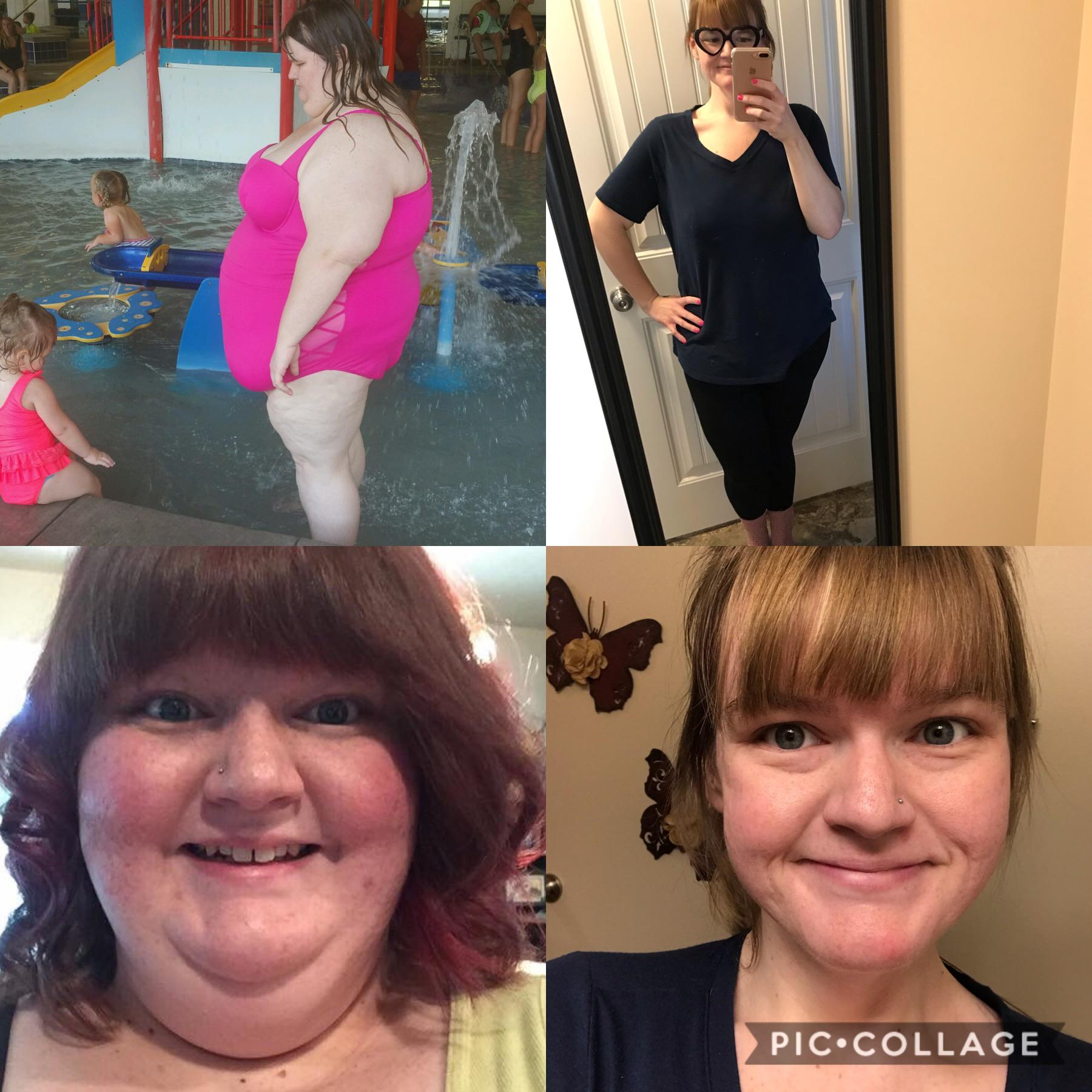 226 lbs Fat Loss 5'6 Female 425 lbs to 199 lbs