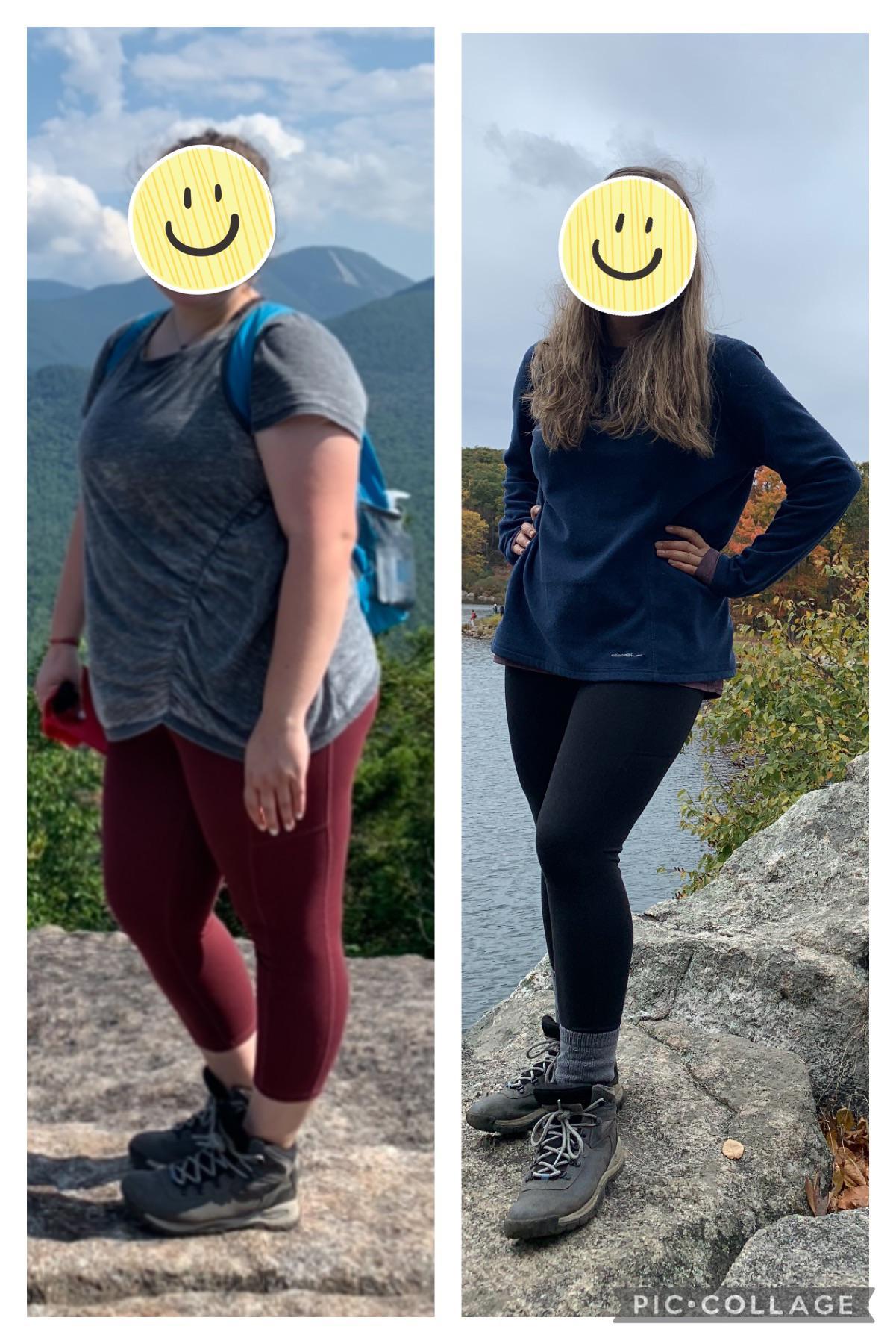 5 foot 5 Female 68 lbs Fat Loss 225 lbs to 157 lbs