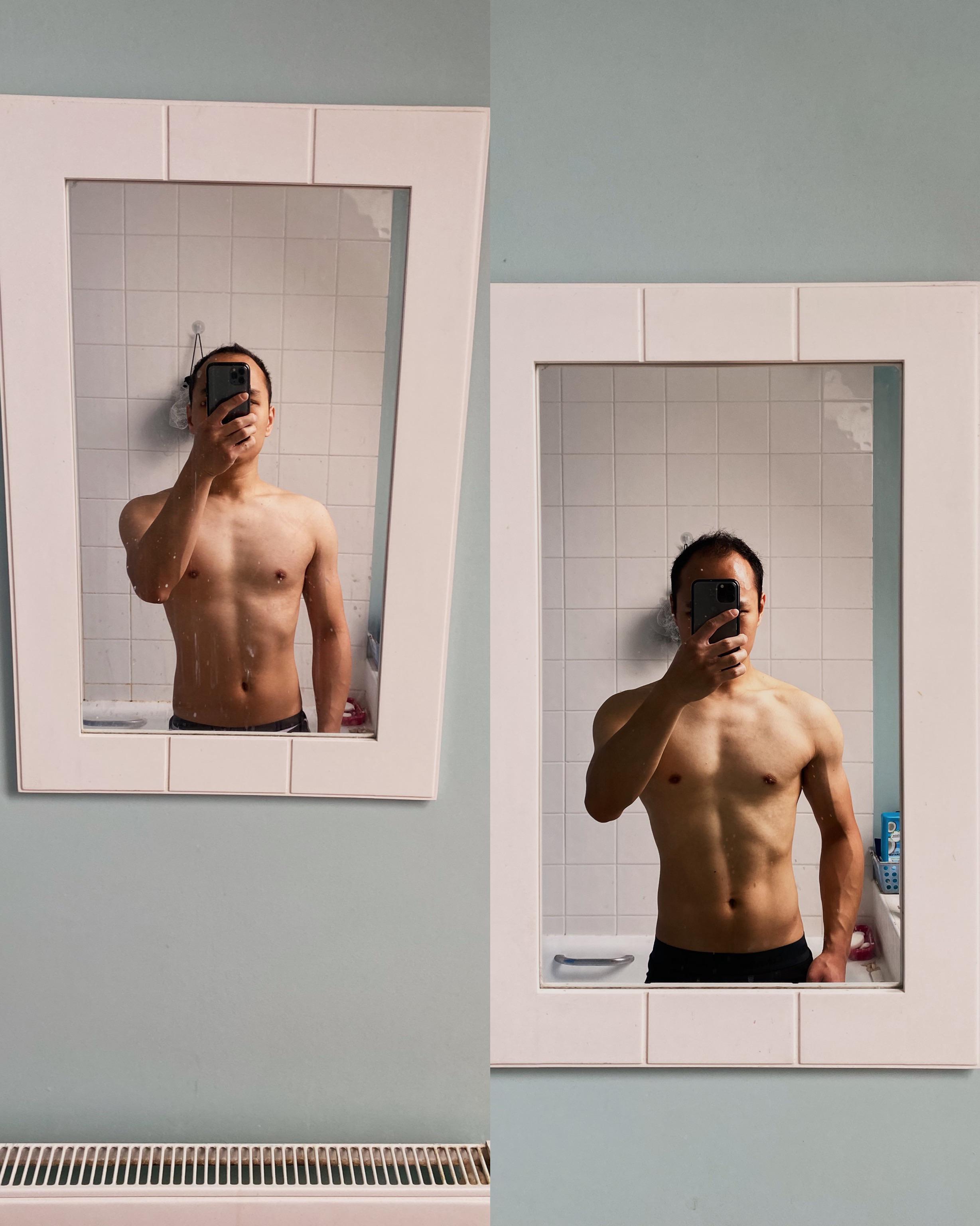 7 lbs Weight Loss 5 feet 6 Male 132 lbs to 125 lbs