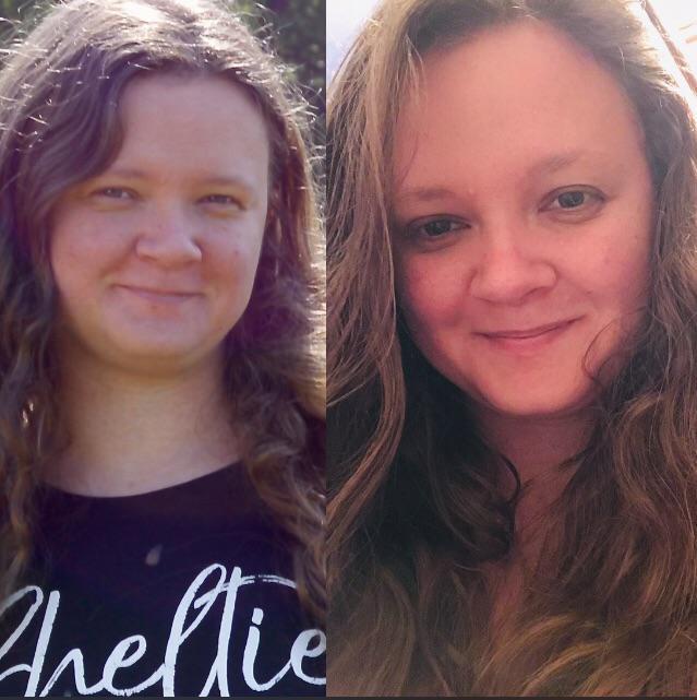 5 foot Female Progress Pics of 26 lbs Fat Loss 185 lbs to 159 lbs