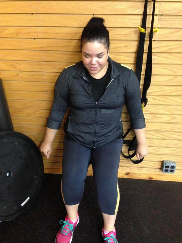 5'6 Female Before and After 22 lbs Fat Loss 252 lbs to 230 lbs
