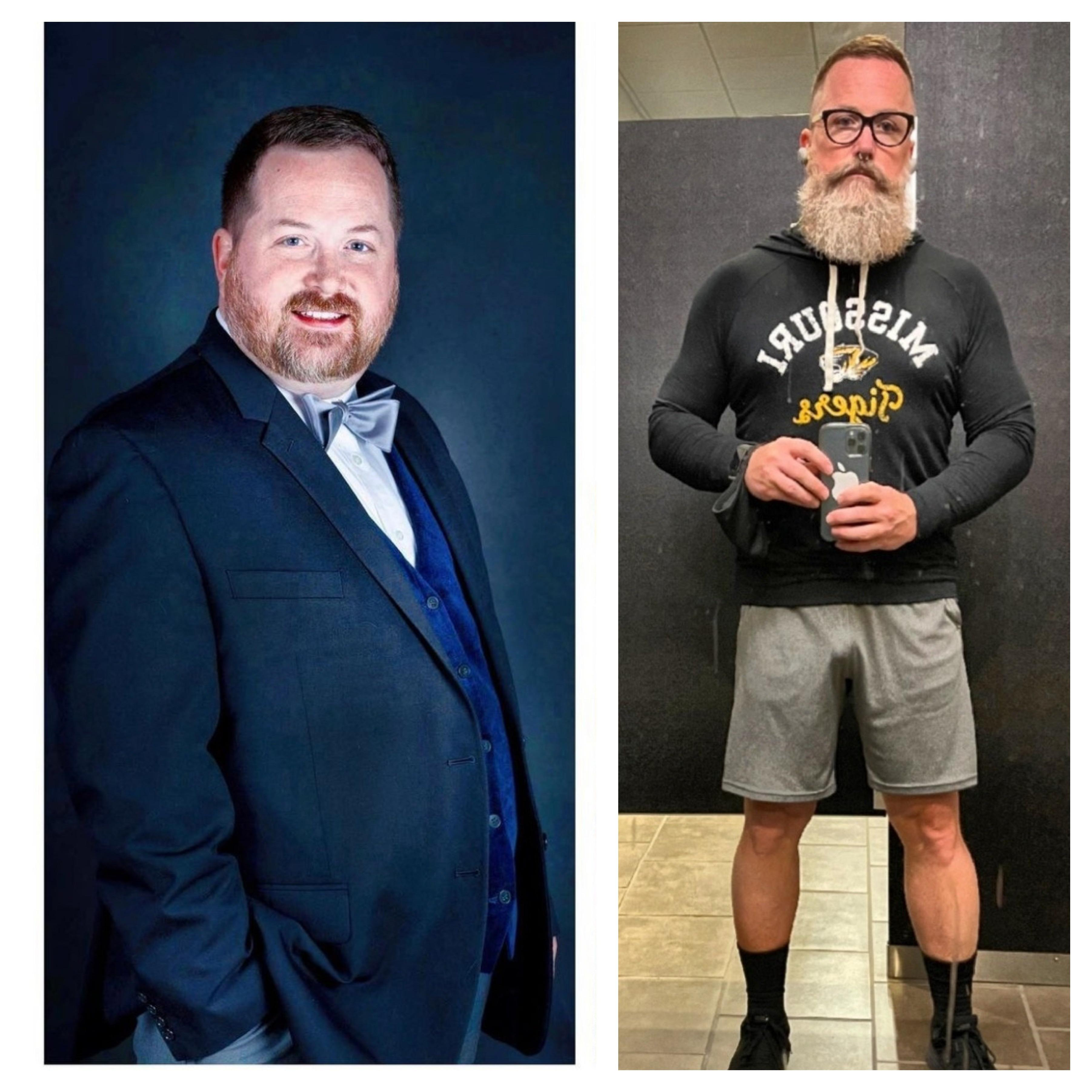 Progress Pics of 77 lbs Fat Loss 5 feet 8 Male 275 lbs to 198 lbs