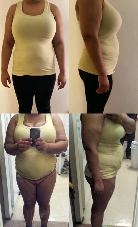 5'5 Female 40 lbs Weight Loss 229 lbs to 189 lbs