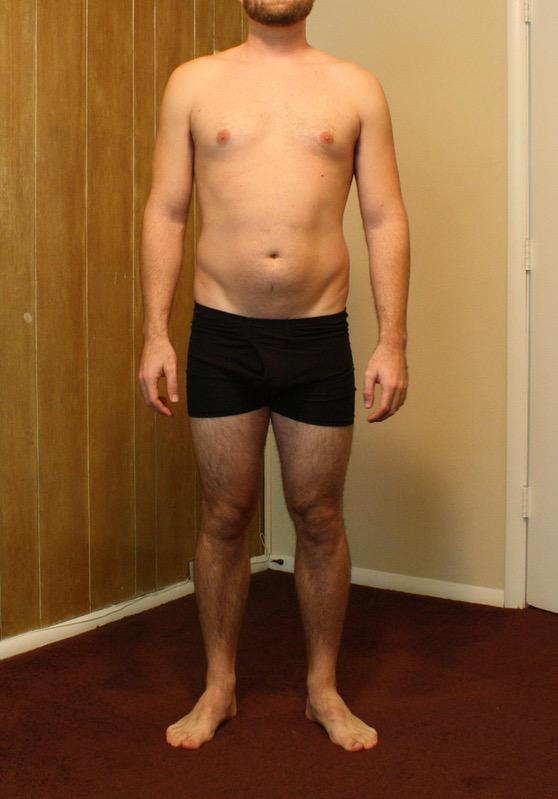 4 Pictures of a 5 feet 11 190 lbs Male Weight Snapshot