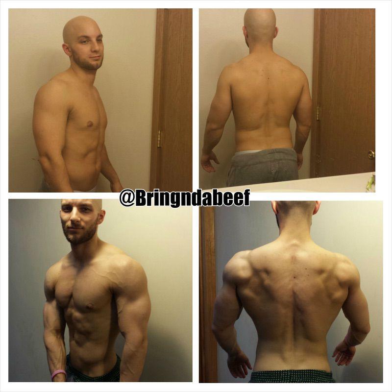 5 feet 4 Male Progress Pics of 17 lbs Weight Loss 151 lbs to 134 lbs