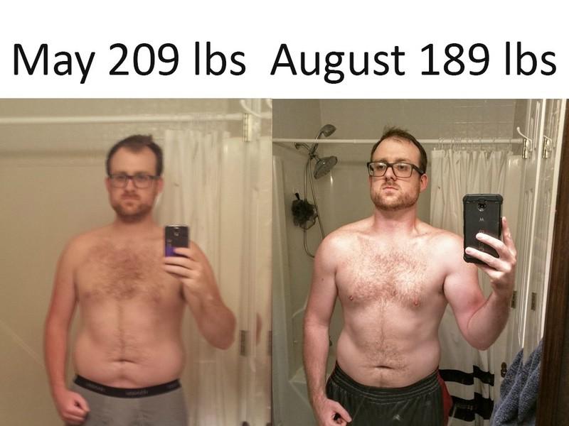 5'11 Male Progress Pics of 20 lbs Weight Loss 209 lbs to 189 lbs