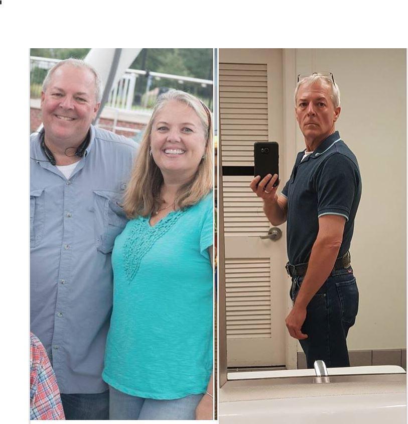 Progress Pics of 90 lbs Fat Loss 5'9 Male 240 lbs to 150 lbs