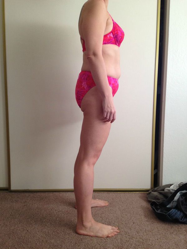4 Pictures of a 5 feet 4 145 lbs Female Fitness Inspo