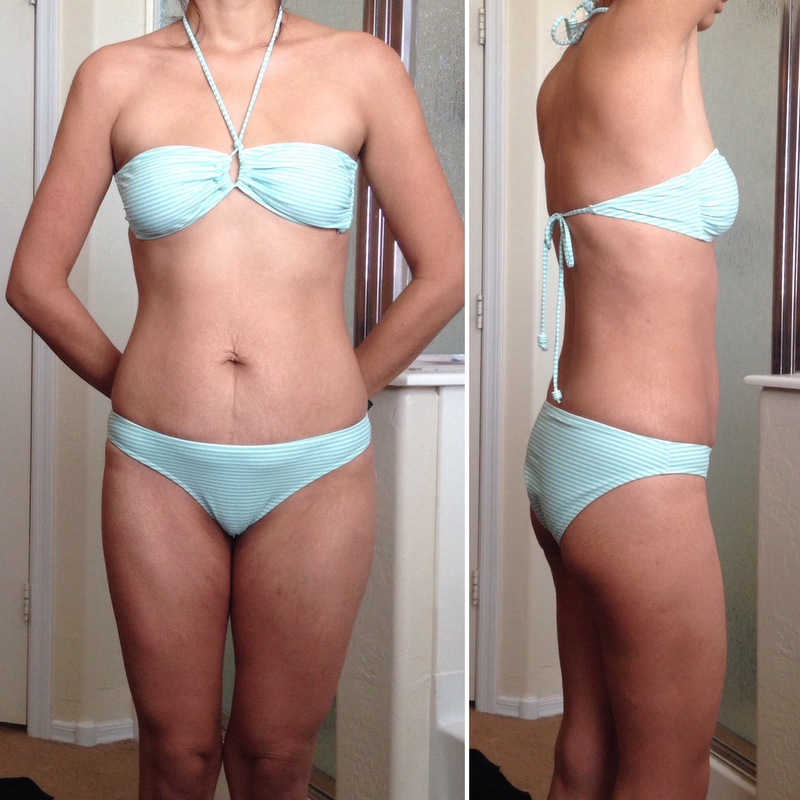 60 lbs Fat Loss Before and After 5 foot 5 Female 175 lbs to 115 lbs