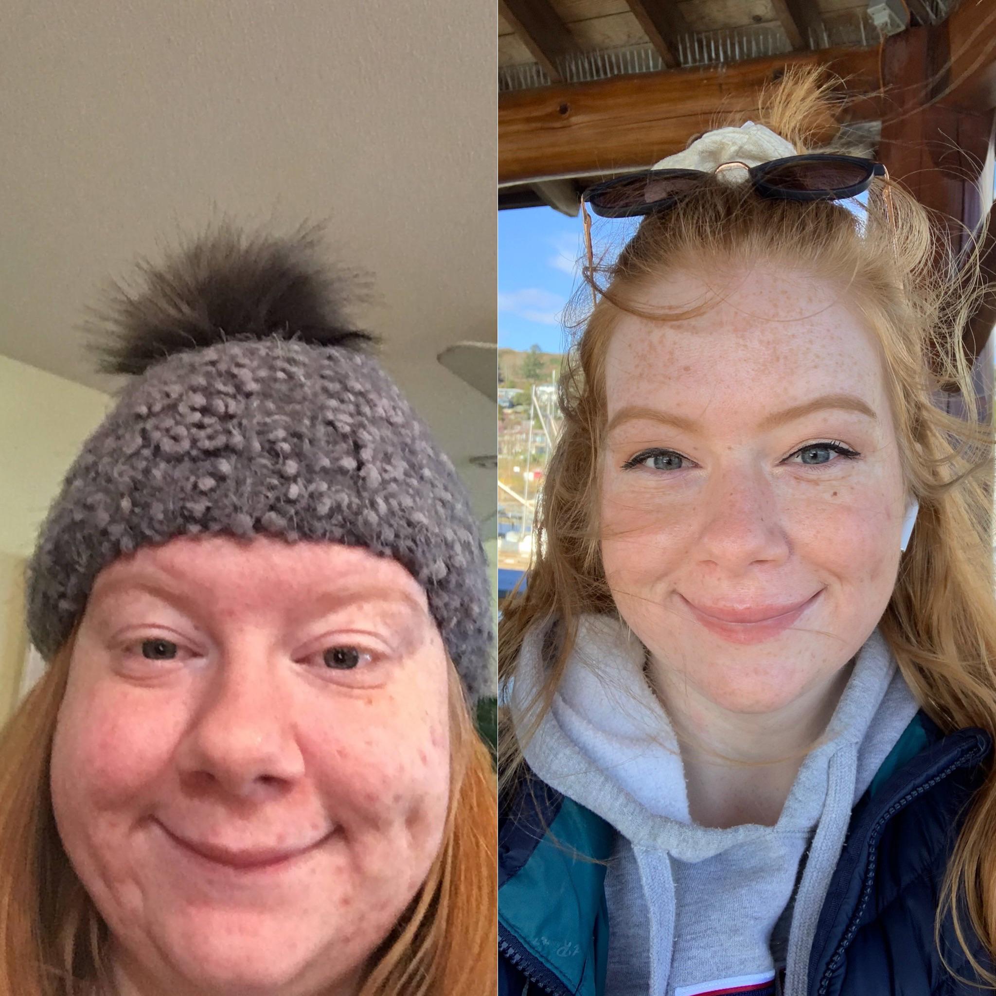 5'5 Female Progress Pics of 61 lbs Weight Loss 190 lbs to 129 lbs