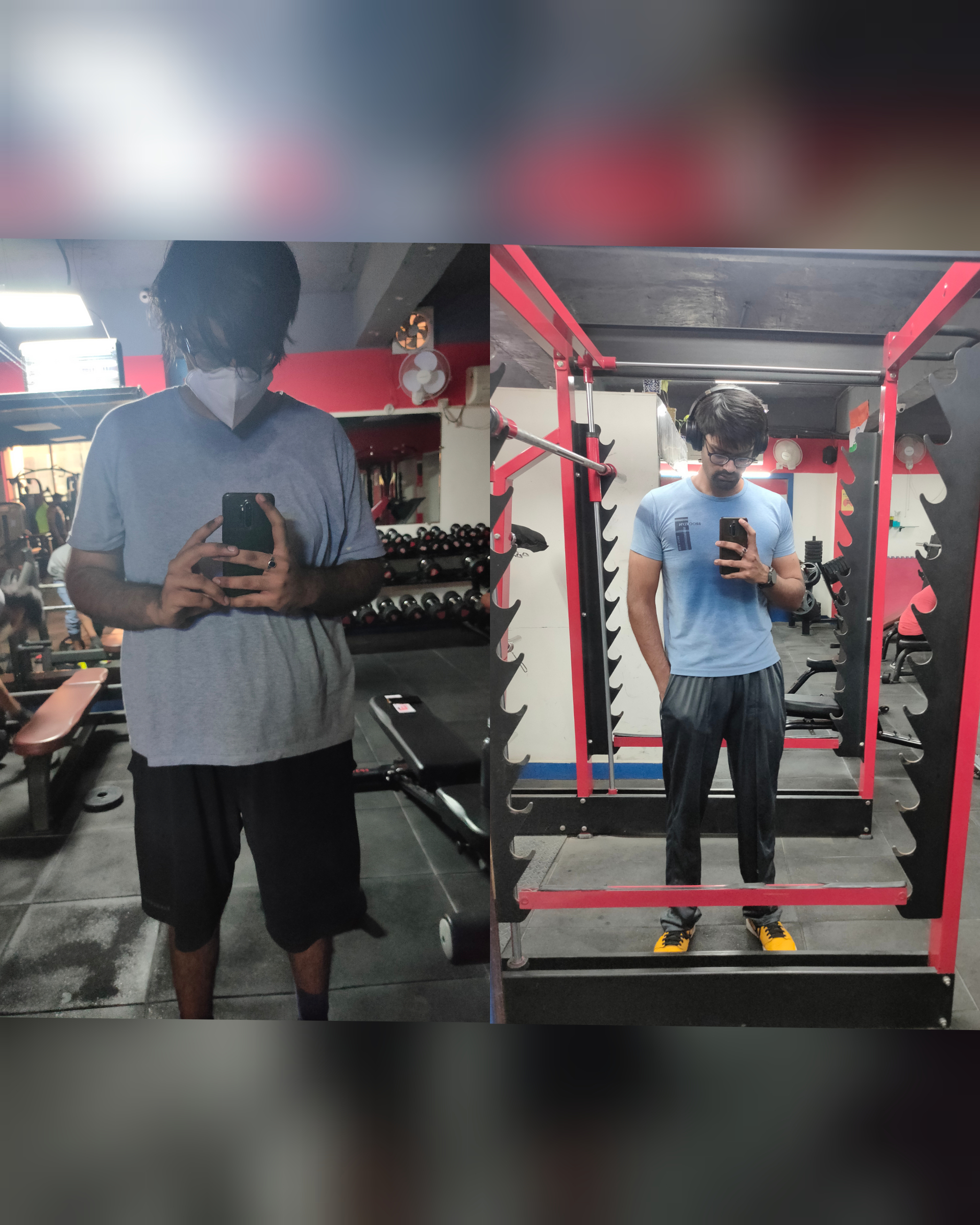 6 foot 2 Male Before and After 86 lbs Fat Loss 264 lbs to 178 lbs