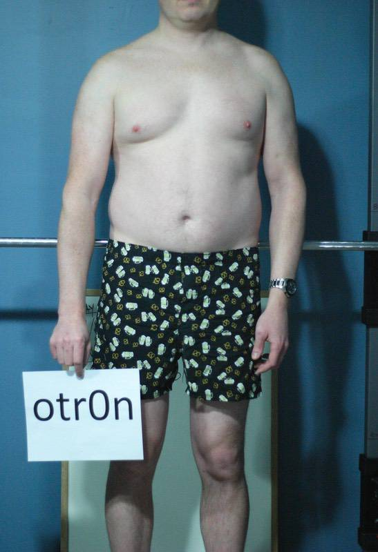 3 Pics of a 6'3 215 lbs Male Weight Snapshot