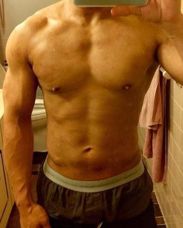 1 Pictures of a 5 feet 7 169 lbs Male Fitness Inspo