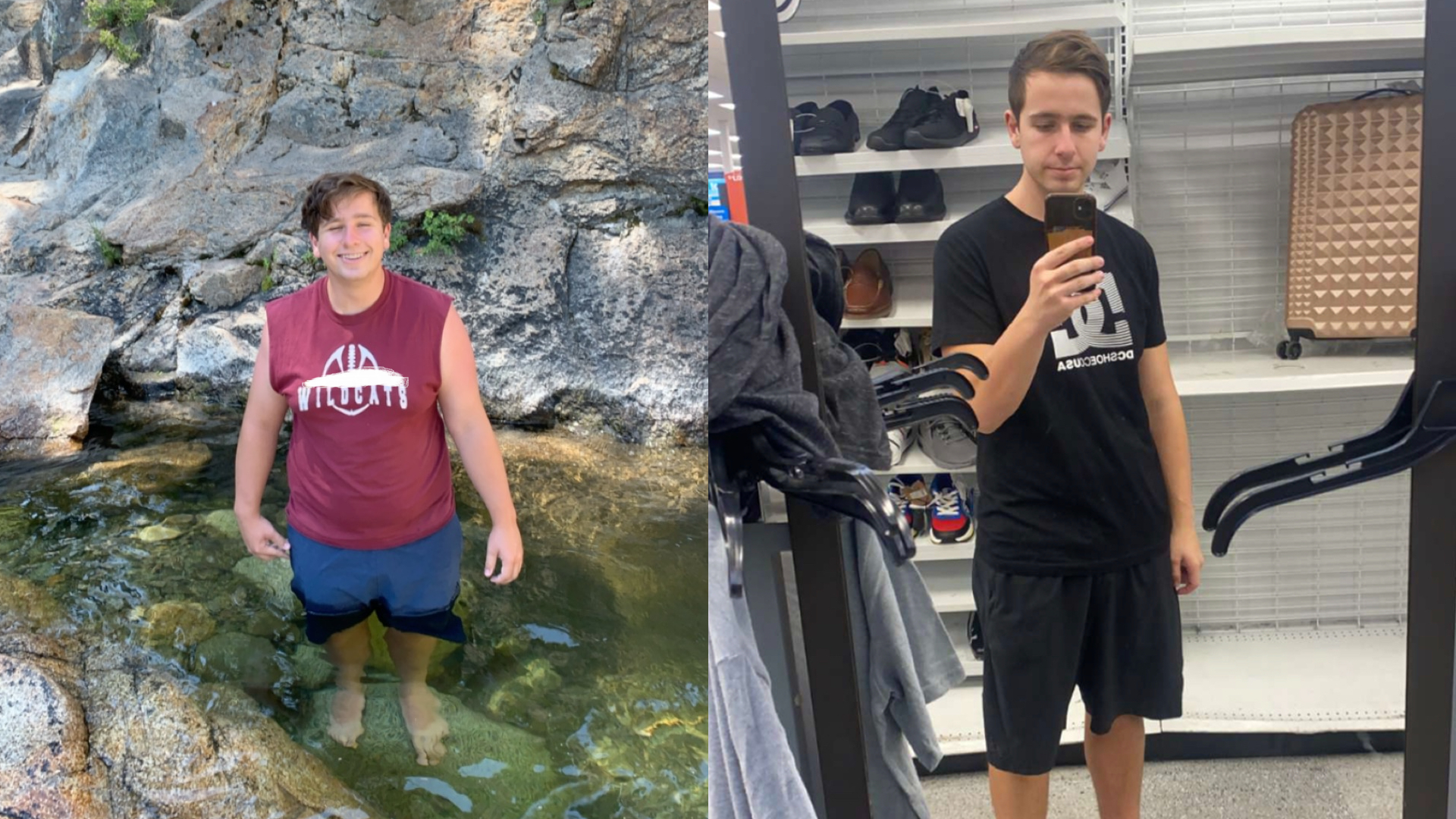 Progress Pics of 70 lbs Weight Loss 5 foot 10 Male 248 lbs to 178 lbs