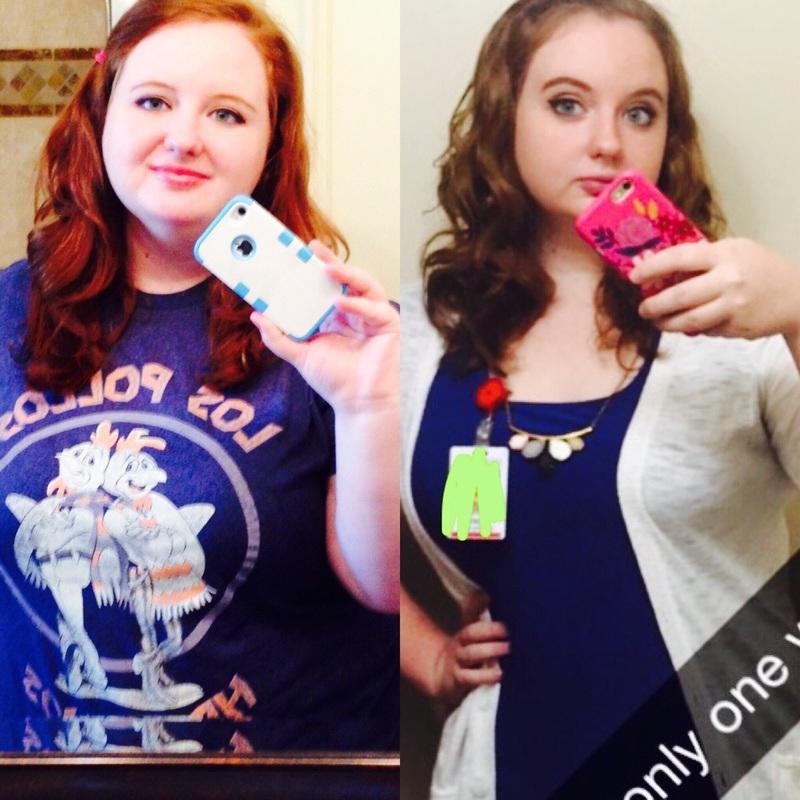 5 foot 7 Female Progress Pics of 81 lbs Fat Loss 299 lbs to 218 lbs