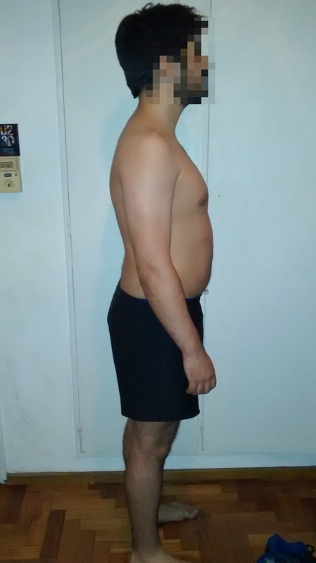 3 Photos of a 5 foot 7 171 lbs Male Fitness Inspo