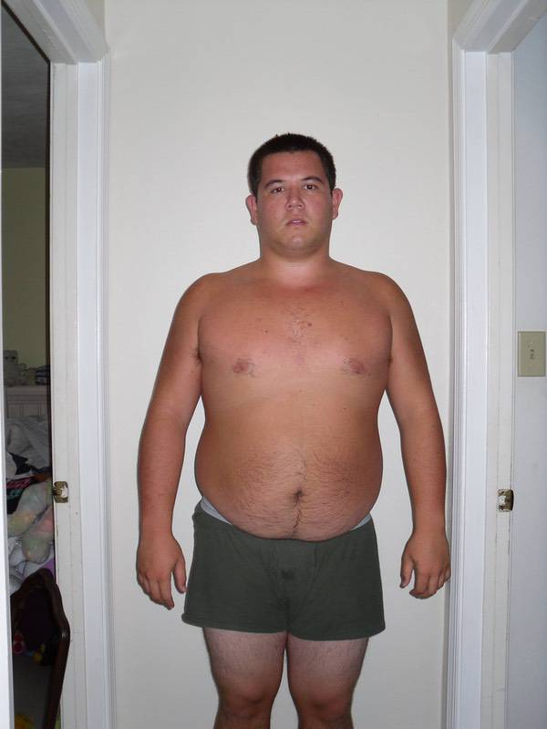 4 Pictures of a 5 feet 11 260 lbs Male Weight Snapshot