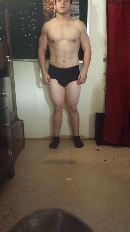 4 Pictures of a 190 lbs 5 feet 9 Male Fitness Inspo
