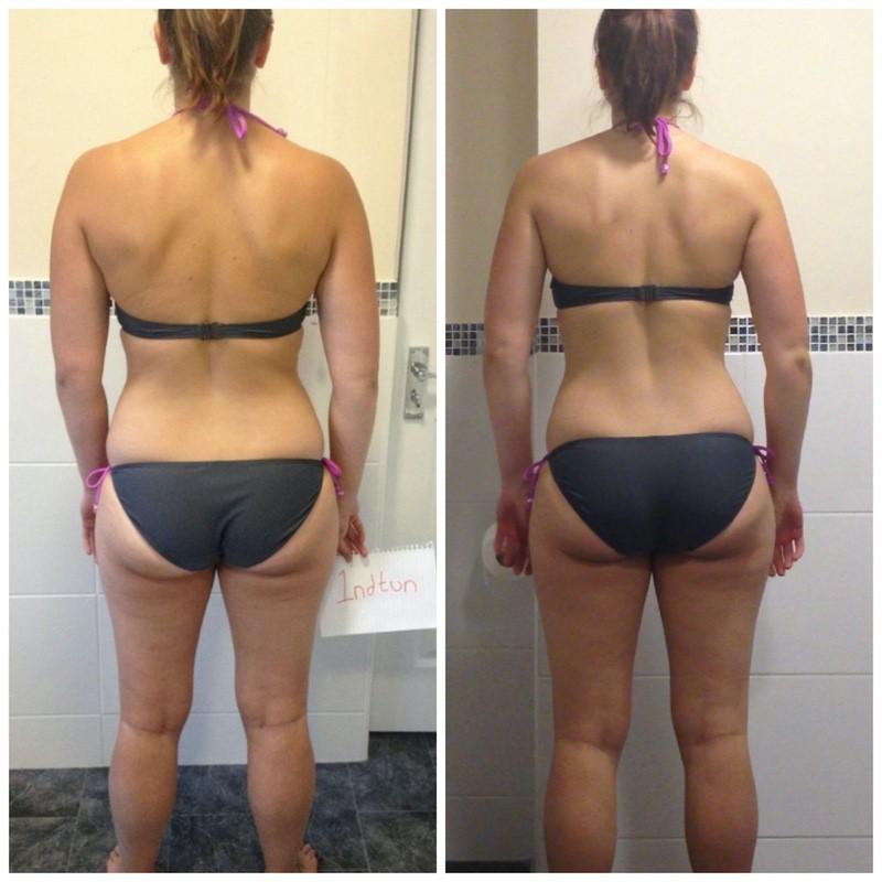 3 Pics of a 5'4 139 lbs Female Fitness Inspo