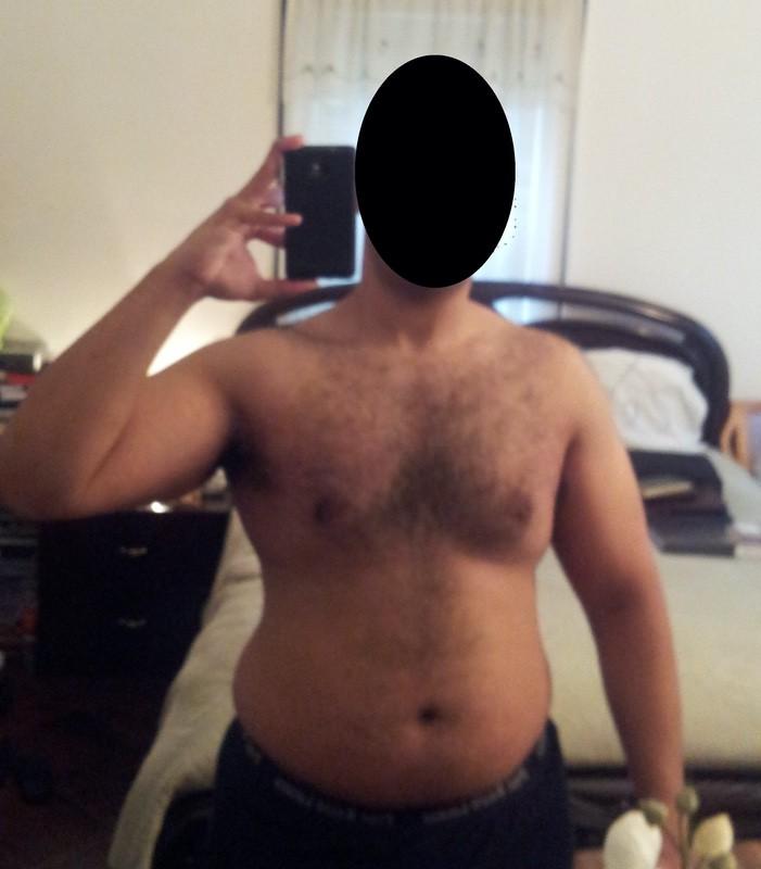 5 feet 9 Male 50 lbs Fat Loss 205 lbs to 155 lbs