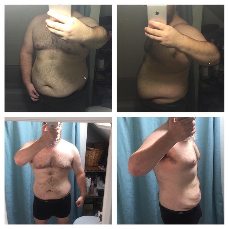 76 lbs Weight Loss 5 feet 9 Male 286 lbs to 210 lbs