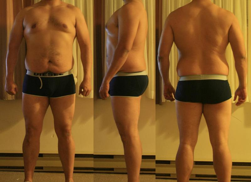6 Pics of a 231 lbs 6 foot Male Weight Snapshot
