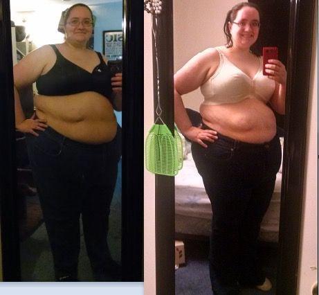 5'6 Female Progress Pics of 69 lbs Weight Loss 371 lbs to 302 lbs
