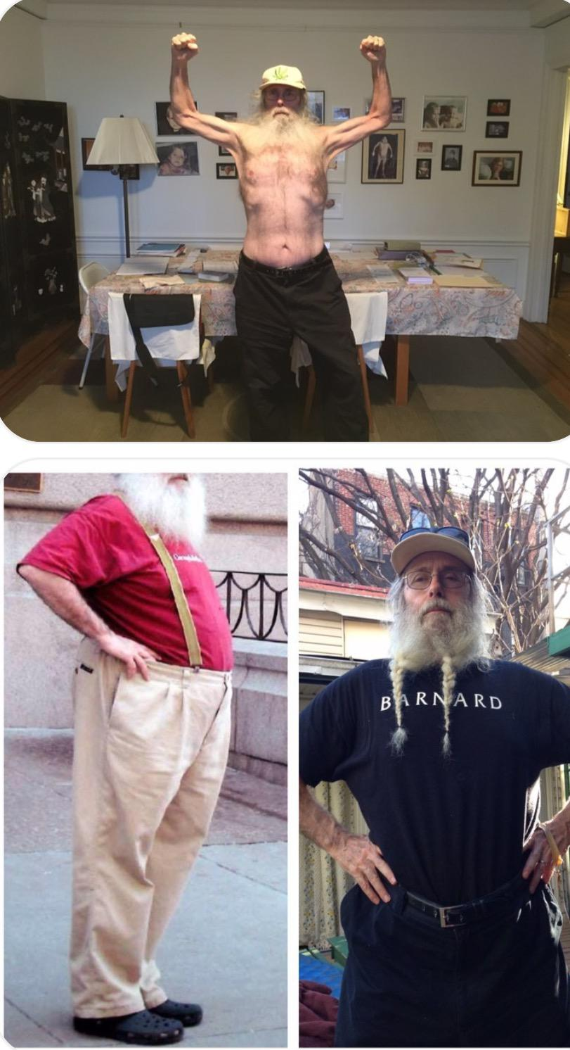 6 foot 1 Male Before and After 142 lbs Fat Loss 300 lbs to 158 lbs