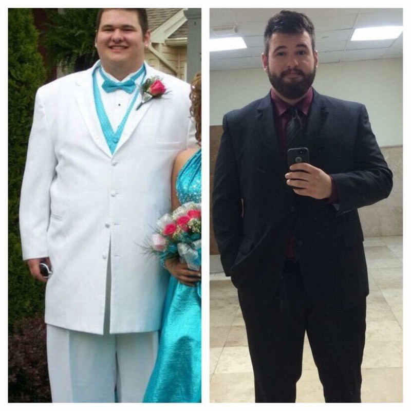 70 lbs Weight Loss Before and After 6'4 Male 365 lbs to 295 lbs