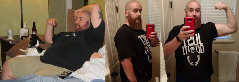 5 foot 10 Male 67 lbs Weight Loss Before and After 341 lbs to 274 lbs
