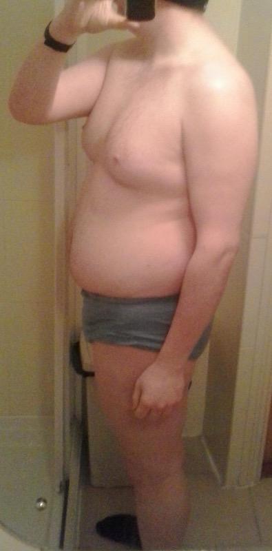 4 Photos of a 268 lbs 6 feet 3 Male Weight Snapshot