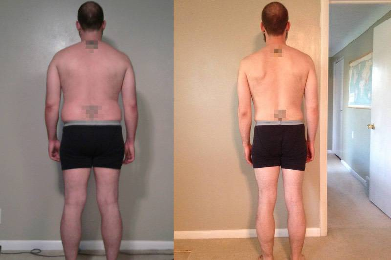 4 Pictures of a 5 foot 11 220 lbs Male Weight Snapshot