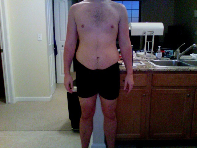 7 Pictures of a 6 foot 11 219 lbs Male Weight Snapshot