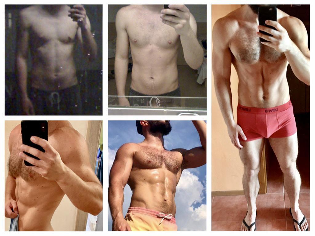 5 feet 6 Male 40 lbs Weight Gain 110 lbs to 150 lbs