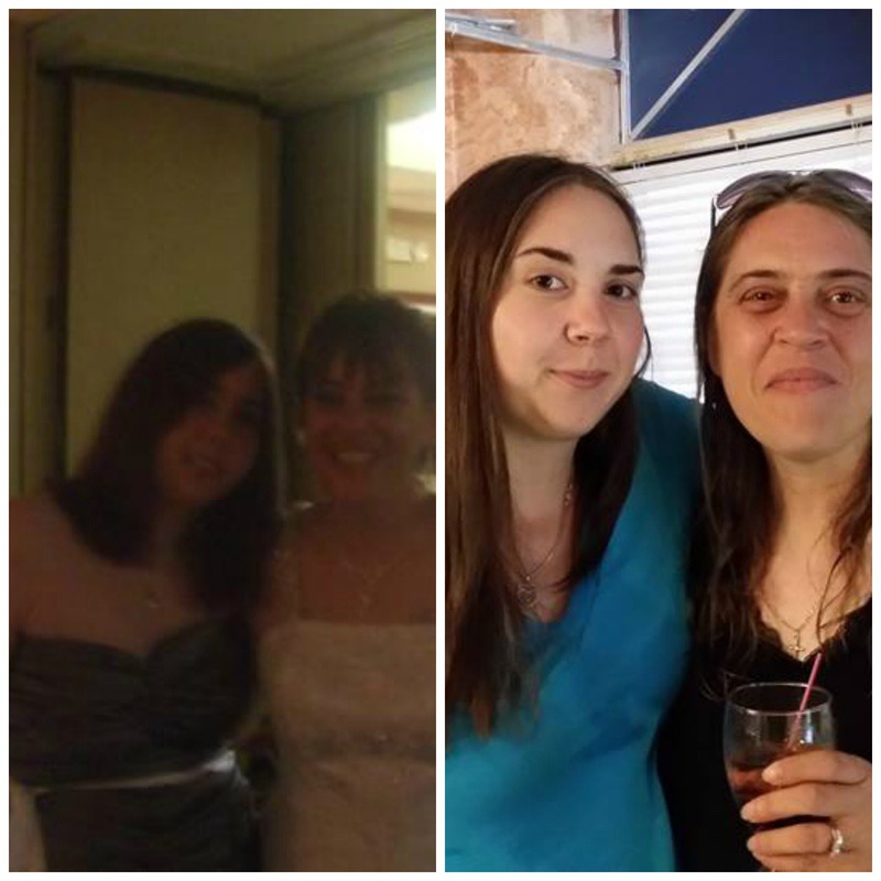 5'8 Female Before and After 32 lbs Weight Loss 210 lbs to 178 lbs
