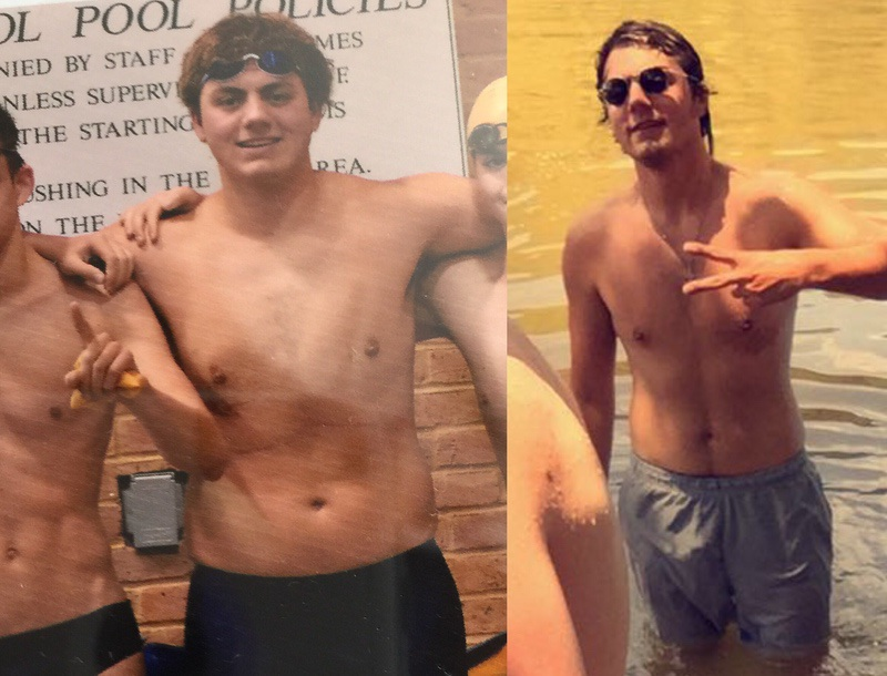 23 lbs Weight Loss Before and After 6'2 Male 219 lbs to 196 lbs